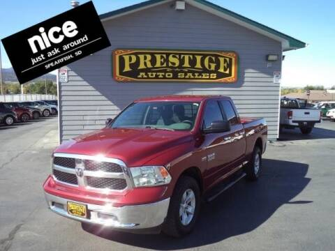 2013 RAM Ram Pickup 1500 for sale at PRESTIGE AUTO SALES in Spearfish SD