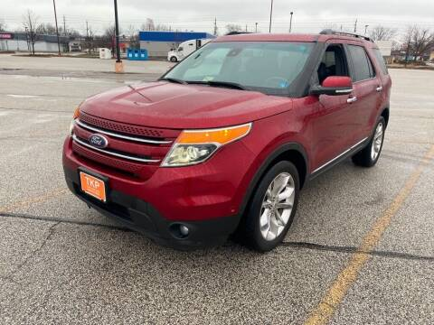 2014 Ford Explorer for sale at TKP Auto Sales in Eastlake OH
