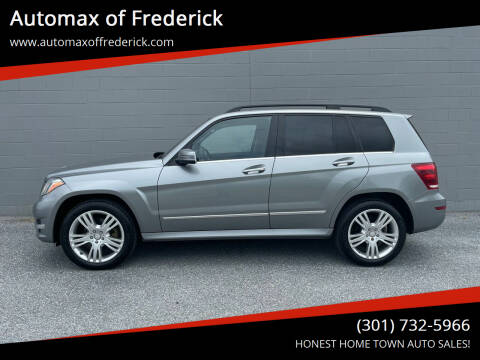 2015 Mercedes-Benz GLK for sale at Automax of Frederick in Frederick MD