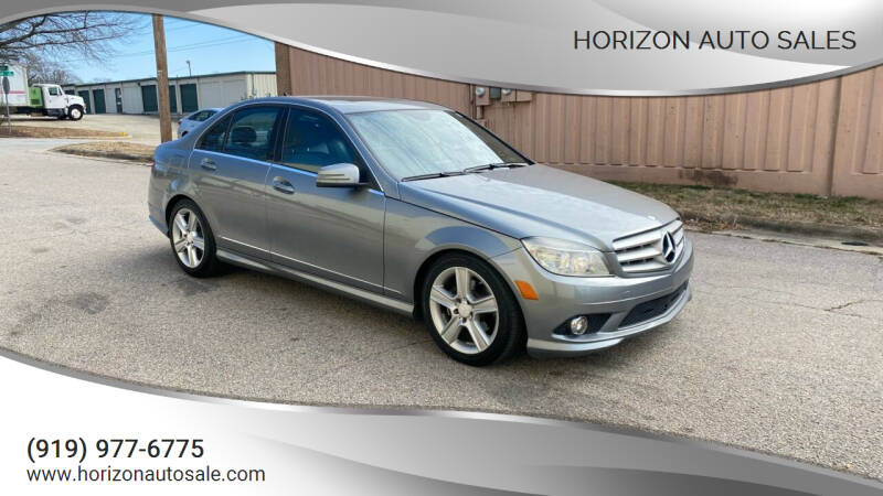 2010 Mercedes-Benz C-Class for sale at Horizon Auto Sales in Raleigh NC