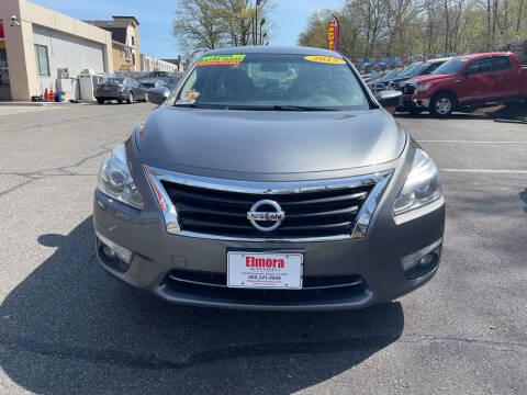 2015 Nissan Altima for sale at Elmora Auto Sales in Elizabeth NJ
