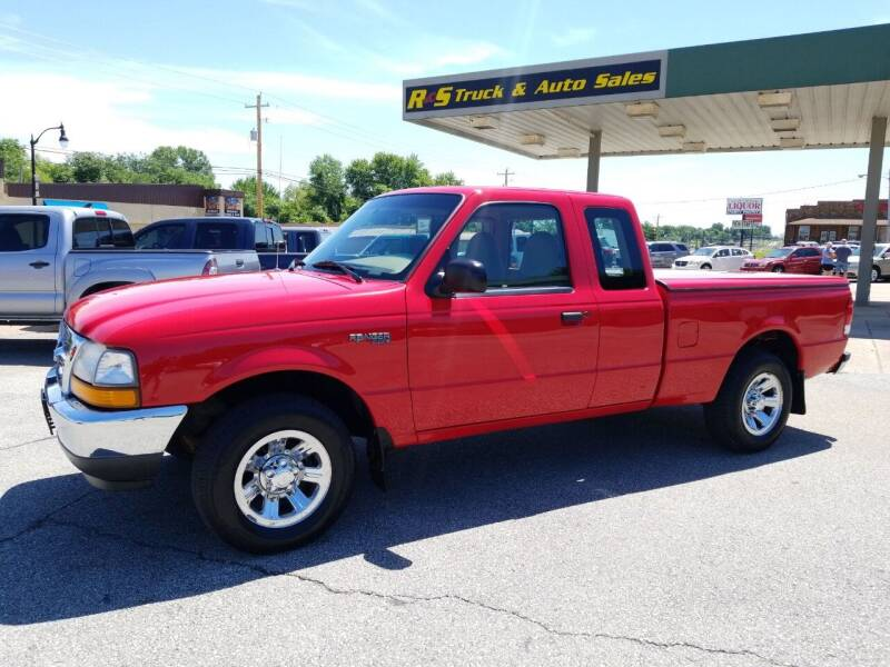 2000 Ford Ranger for sale at R & S TRUCK & AUTO SALES in Vinita OK