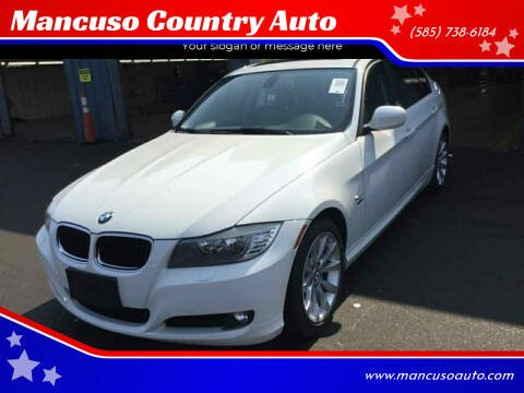 2011 BMW 3 Series for sale at Mancuso Country Auto in Batavia NY