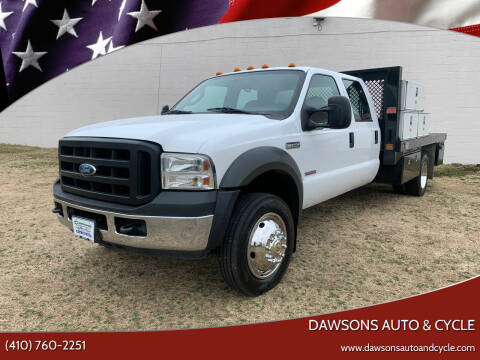 2005 Ford F-450 Super Duty for sale at Dawsons Auto & Cycle in Glen Burnie MD