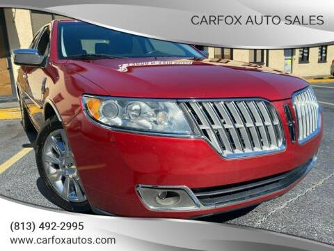 2011 Lincoln MKZ Hybrid for sale at Carfox Auto Sales in Tampa FL