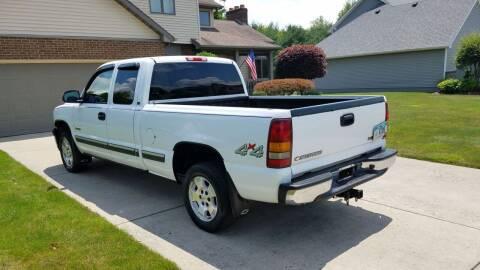 2002 Chevrolet Silverado 1500 for sale at Country Auto Sales in Boardman OH