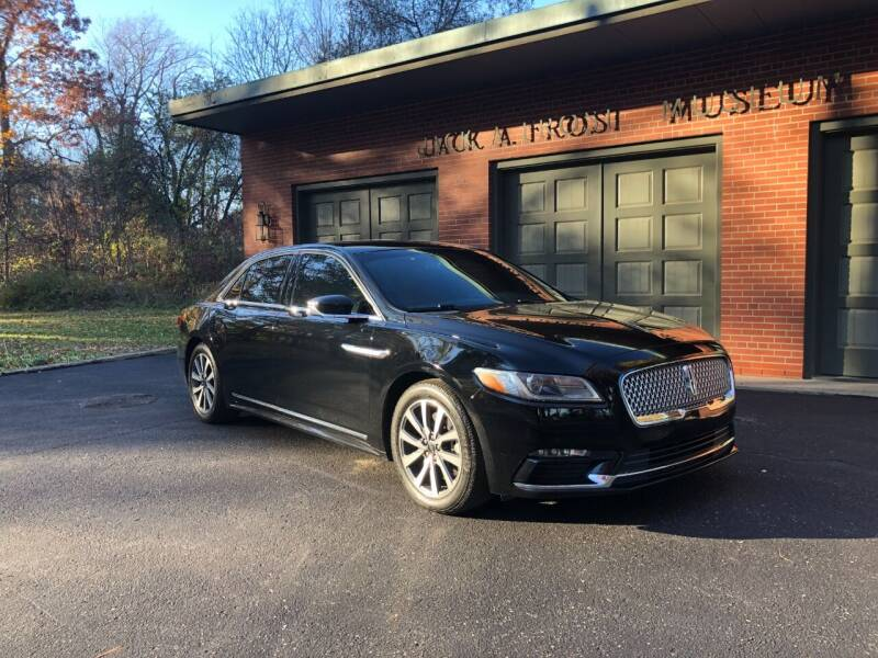 2017 Lincoln Continental for sale at Jack Frost Auto Museum in Washington MI
