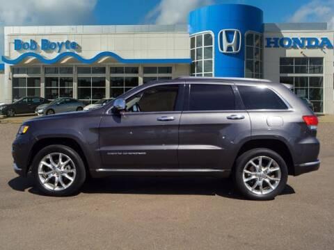 2015 Jeep Grand Cherokee for sale at BOB BOYTE HONDA in Brandon MS