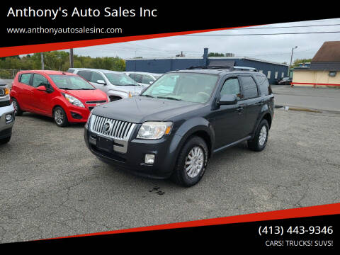 2010 Mercury Mariner for sale at Anthony's Auto Sales Inc in Pittsfield MA