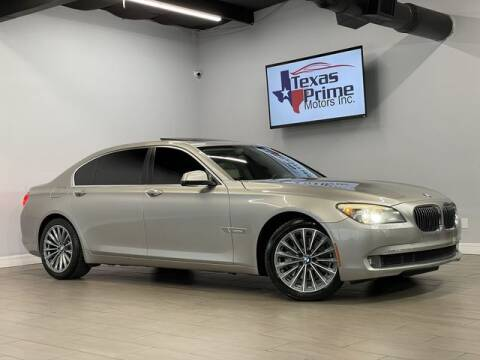 2012 BMW 7 Series for sale at Texas Prime Motors in Houston TX