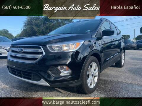 2018 Ford Escape for sale at Bargain Auto Sales in West Palm Beach FL