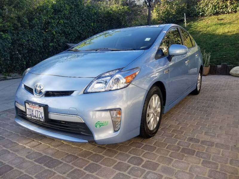 2014 Toyota Prius Plug-in Hybrid for sale at Best Quality Auto Sales in Sun Valley CA