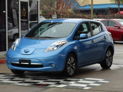 2013 Nissan LEAF for sale at Drive Town in Houston TX