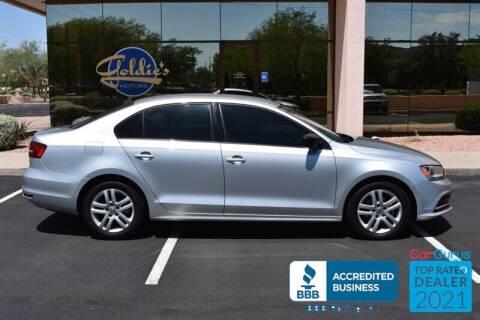 2015 Volkswagen Jetta for sale at GOLDIES MOTORS in Phoenix AZ