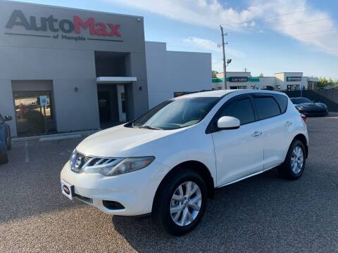 2012 Nissan Murano for sale at AutoMax of Memphis - Engels Merchan in Memphis TN