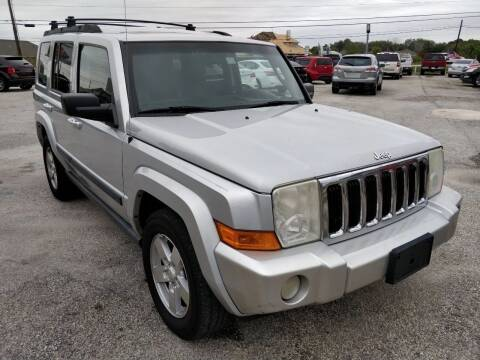 2007 Jeep Commander for sale at PREMIER MOTORS OF PEARLAND in Pearland TX