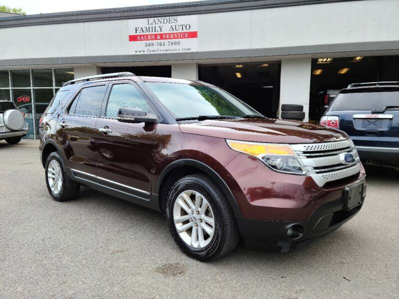 2012 Ford Explorer for sale at Landes Family Auto Sales in Attleboro MA