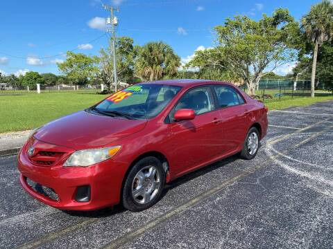 2011 Toyota Corolla for sale at Lamberti Auto Collection in Plantation FL