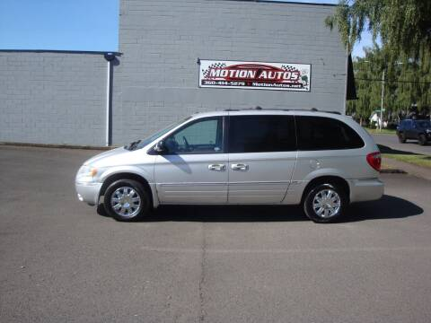 2006 Chrysler Town and Country for sale at Motion Autos in Longview WA