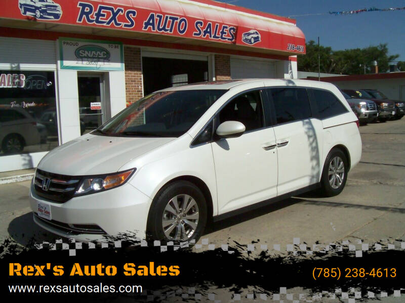 2016 Honda Odyssey for sale at Rex's Auto Sales in Junction City KS