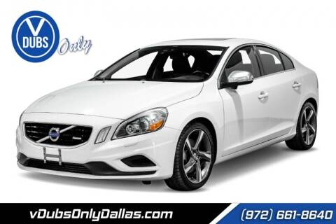 2012 Volvo S60 for sale at VDUBS ONLY in Dallas TX