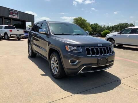 2016 Jeep Grand Cherokee for sale at KIAN MOTORS INC in Plano TX