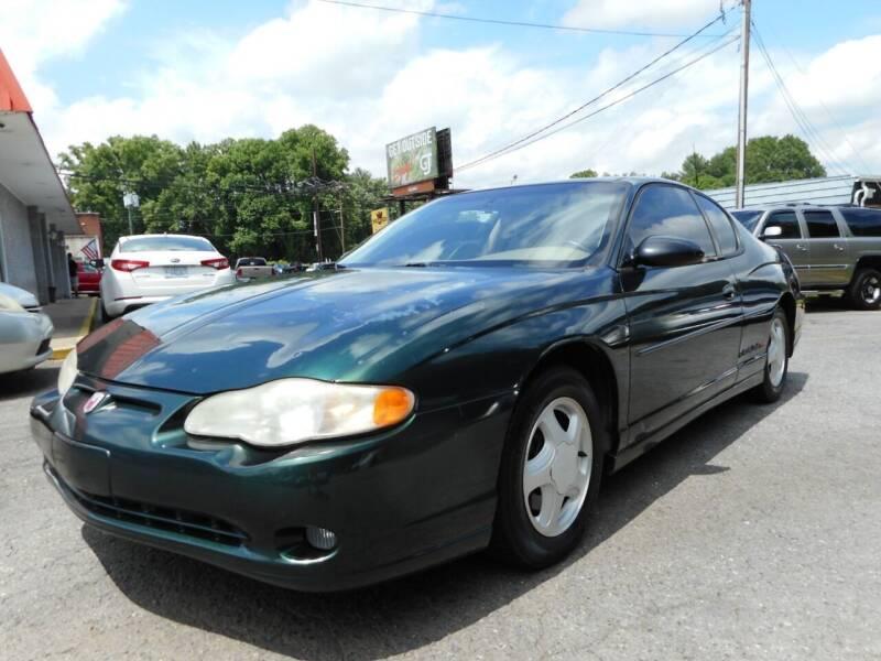 2002 Chevrolet Monte Carlo for sale at Super Sports & Imports in Jonesville NC