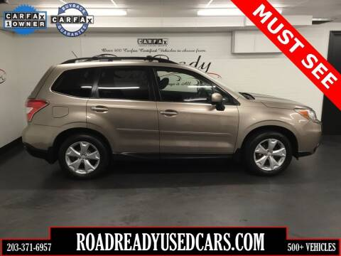 2014 Subaru Forester for sale at Road Ready Used Cars in Ansonia CT