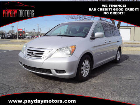 2010 Honda Odyssey for sale at Payday Motors in Wichita And Topeka KS