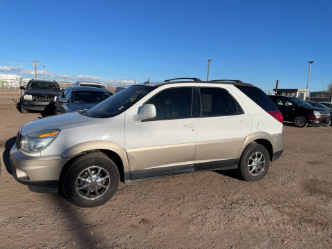 2004 Buick Rendezvous for sale at PYRAMID MOTORS - Fountain Lot in Fountain CO