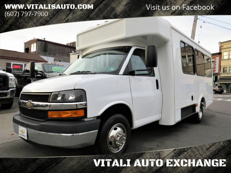 2013 Chevrolet Express Cutaway for sale at VITALI AUTO EXCHANGE in Johnson City NY