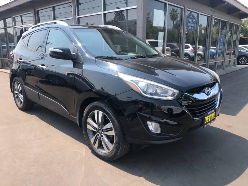 2015 Hyundai Tucson for sale at Devine Auto Sales in Modesto CA