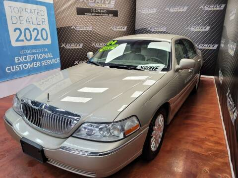 2004 Lincoln Town Car for sale at X Drive Auto Sales Inc. in Dearborn Heights MI