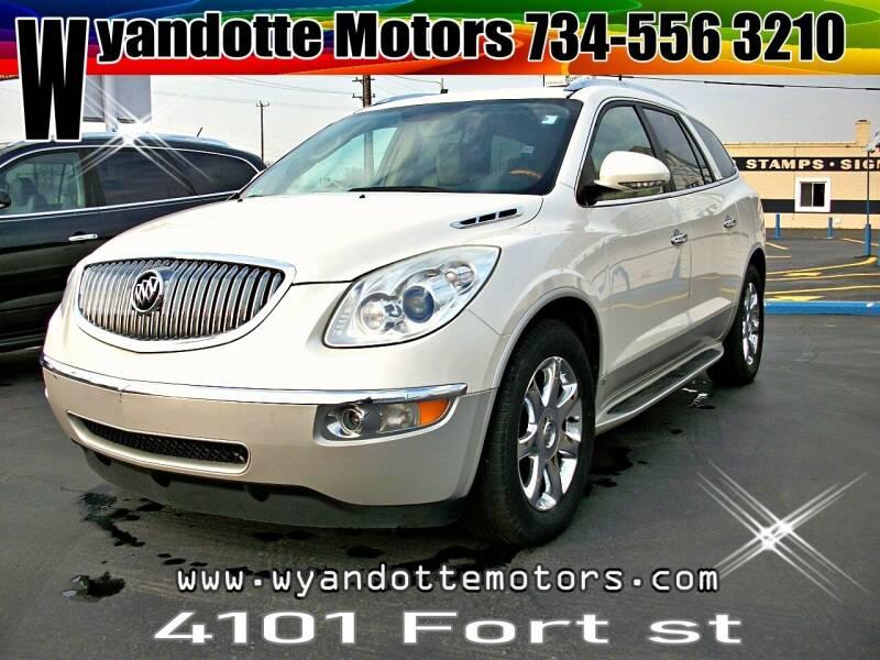 2010 Buick Enclave for sale at Wyandotte Motors in Wyandotte MI