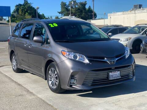 2020 Toyota Sienna for sale at H & K Auto Sales & Leasing in San Jose CA