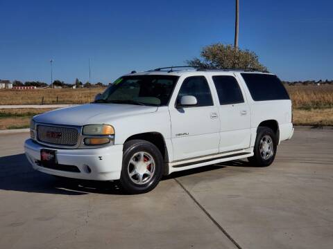 2004 GMC Yukon XL for sale at Chihuahua Auto Sales in Perryton TX