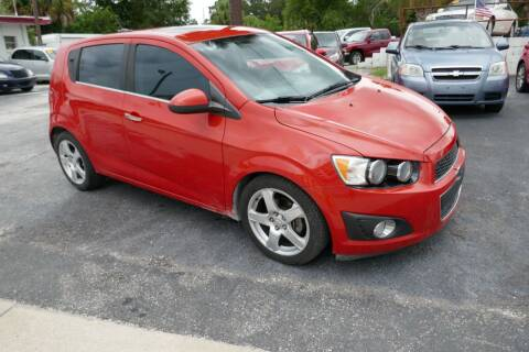 2012 Chevrolet Sonic for sale at J Linn Motors in Clearwater FL