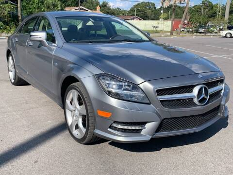 2012 Mercedes-Benz CLS for sale at Consumer Auto Credit in Tampa FL