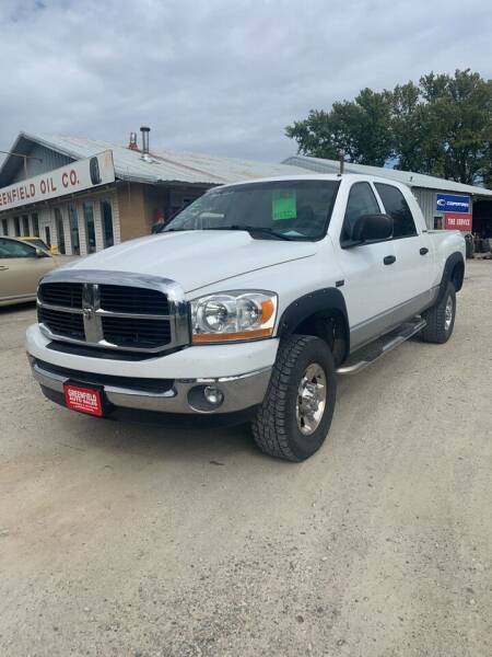 2006 Dodge Ram Pickup 1500 for sale at GREENFIELD AUTO SALES in Greenfield IA