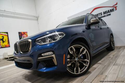 2019 BMW X3 for sale at AUTO IMPORTS MIAMI in Fort Lauderdale FL