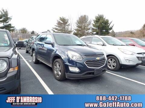2016 Chevrolet Equinox for sale at Jeff D'Ambrosio Auto Group in Downingtown PA