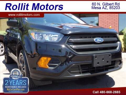 2019 Ford Escape for sale at Rollit Motors in Mesa AZ