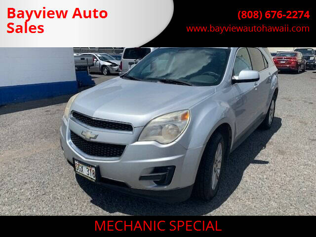 2010 Chevrolet Equinox for sale at Bayview Auto Sales in Waipahu HI