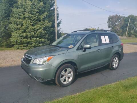 2015 Subaru Forester for sale at Carmart Auto Sales Inc in Schoolcraft MI