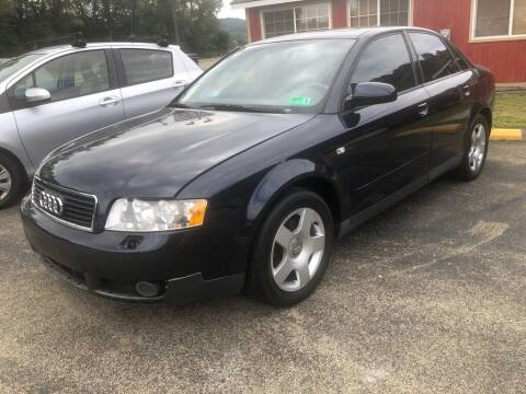 2002 Audi A4 for sale at Elite Motors in Uniontown PA