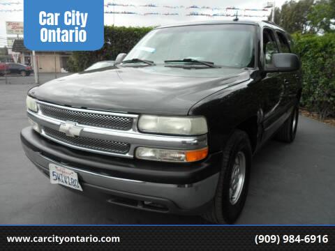 2003 Chevrolet Tahoe for sale at Car City Ontario in Ontario CA