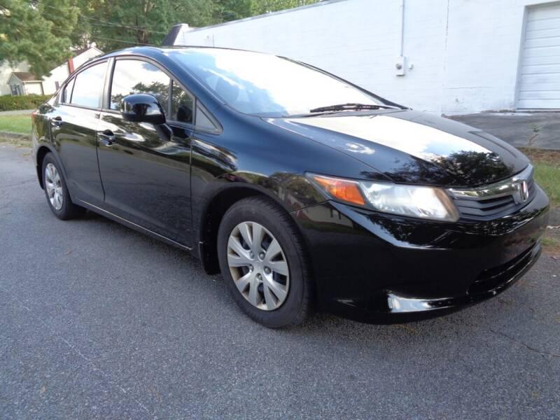 2012 Honda Civic for sale at Liberty Motors in Chesapeake VA
