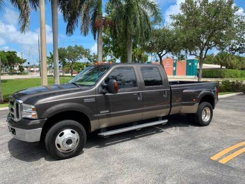 2005 Ford F-350 Super Duty for sale at BIG BOY DIESELS in Fort Lauderdale FL