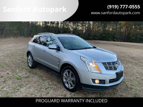 2010 Cadillac SRX for sale at Sanford Autopark in Sanford NC