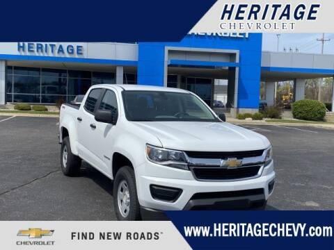 2018 Chevrolet Colorado for sale at HERITAGE CHEVROLET INC in Creek MI